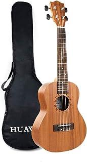 Concert Ukulele Mahogany 23 inch Starter Kit for Beginner Ukelele Uke Hawaiian Ukulele Small Guitar for Kids Adults Beginners Students Children