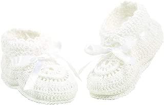 Elegant Baby Crocheted Booties