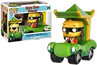 Funko Pop! Rides #29 Phooey Mobile with Hong Kong Phooey (2017 Emerald City Comic Con Exclusive)