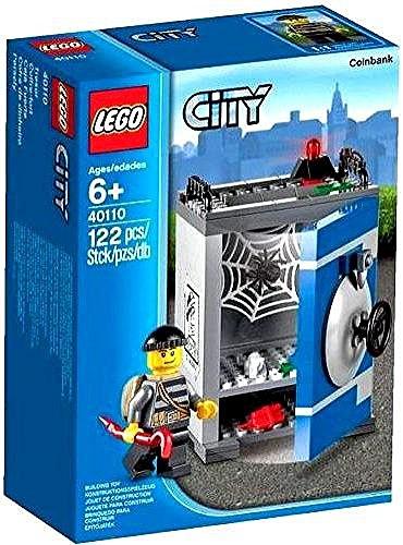 LEGO City Banco de Monedas - Juegos de construcción (Cualquier género, Multi)