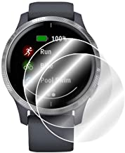 IPG For Garmin Venu GPS Smartwatch Screen Protector (2 Units) Invisible Ultra HD Clear Film Anti Scratch Skin Guard - Smoo...
