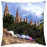 N\A Cojín Cojín Sombrero Sombreros Mallorca Viajes Turismo Sky Tree