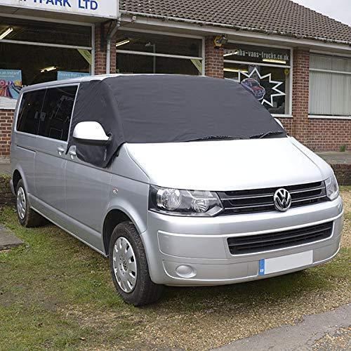 VW Transporter T5 T26 T28 T30 T32 a Medida Cuero Sintético Fundas de Asiento