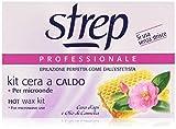 Strep - Kit cera a caldo, Cera d'Api e Olio di Camelia - 100 g