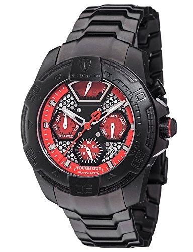DETOMASO Herren-Armbanduhr Analog Automatik DT-ML103-B