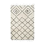 House Doctor Rug Kuba - Alfombra (200 x 140 cm), color Blanco (off white)