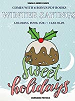 Coloring Book for 7+ Year Olds (Winter Sayings)