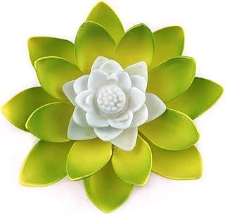Yushu Lampe LED créative en forme de fleur de lotus - Veilleuse pour fête de mi-automne - Décoration d'intérieur - Accesso...