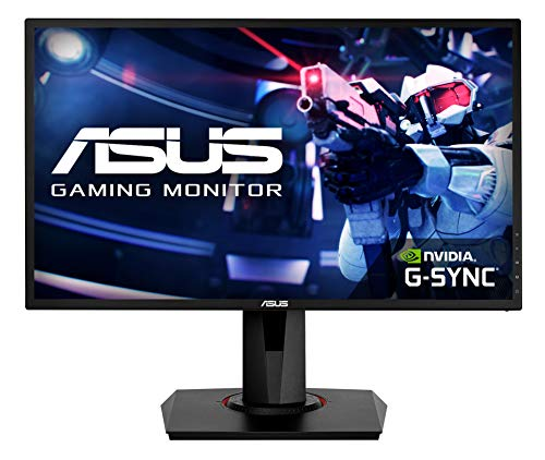 "ASUS VG248QG - Ecran PC gaming eSport 24"" FHD - Dalle TN - 16:9 - 165Hz - 0,5ms - 1920x1080 - 350cd/m² - Display Port, HDMI et DVI - AMD FreeSync - Nvidia G-Sync - Haut-parleurs"