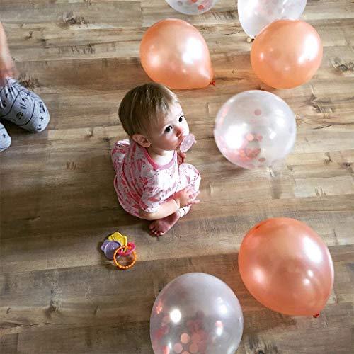 Ballon Set roségold | 30 Stück - 4