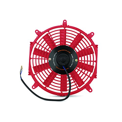"Price comparison product image Mishimoto Slim Electric Fan 12"",  Red"