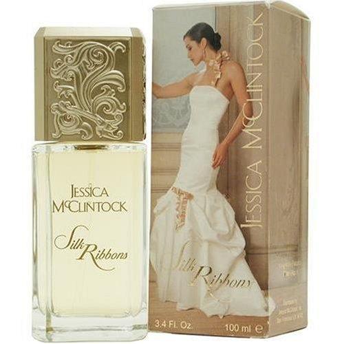 Jessica Mc Clintock Silk Ribbons By Jessica Mcclintock For Women. Eau De Parfum Spray 3.4 oz: Jessica McClintock