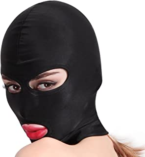 HOT TIME Unisex Lycra Spandex Zentai Hood Mask