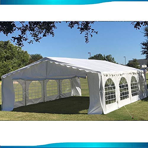 26'x16' Budget PE Party Tent Canopy Shelter White - by DELTA Canopies