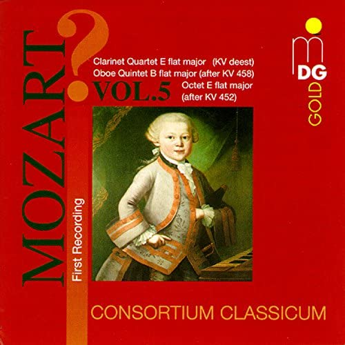 Mozart Wind Music Vol 5 product image