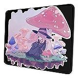 Alfombrilla de ratón Sucy Manbavaran Alfombrilla de ratón de Goma Antideslizante Alfombrilla de ratón para Juegos Alfombrilla de ratón portátil de Escritorio 18×22 cm