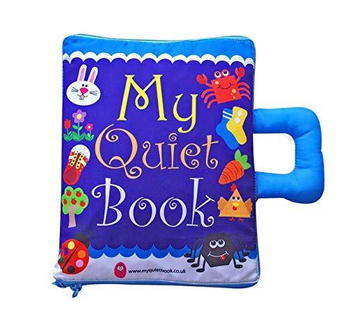 My Quiet Book UK - Soft Activity Book for Toddlers and Baby (CE Approved)