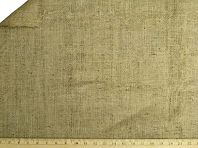 LA Linen 60-Inch Wide Natural Burlap
