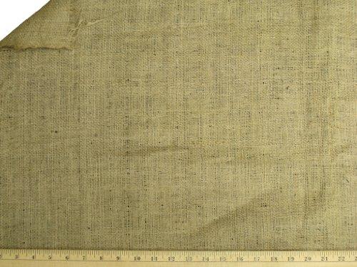 LA Linen 60-Inch Wide Natural Burlap , 1 Yard Folded