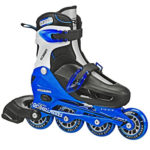 Roller Derby V-Tech 500 Inline Skates with Adjustable Sizing for kids, teens, and adults