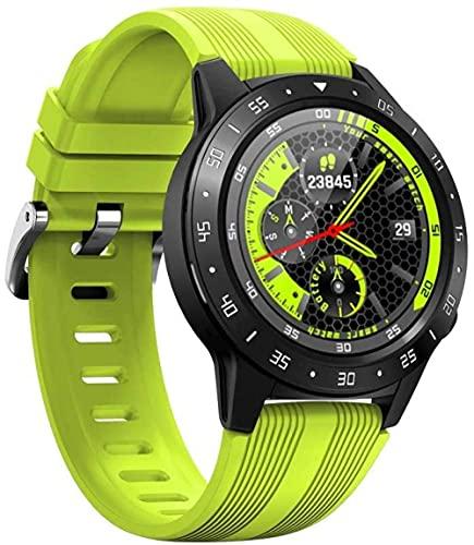 SVUZU Reloj Conectado, Seguimiento de ActividadFrecuencia cardíaca y física Durante Todo el día, Contador de calorías, Reloj Inteligente Bluetooth con GPS, barómetro, brújula, Pantalla