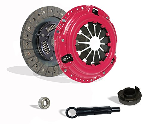 Clutch Kit Compatible With Civic Crx Base Cx Dx Ex Lx Si Hf 1990-1991 1.6L L4 1.5L l4 GAS SOHC Naturally Aspirated (D15; D16; all model with ZC motor w/cable tranny; Stage 1; Except 4Wd Wagon)