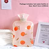 Noun <span class='highlight'><span class='highlight'>blumtal</span></span> hot water bottle with cover Water-filled hot water bottle portable warm hand baby cute uncharged adult neck hot water bottle 1300ml