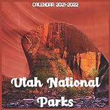 Utah National Parks Calendar 2021-2022: April 2021 Through December 2022 Square Photo Book Monthly Planner Utah National Parks small calendar