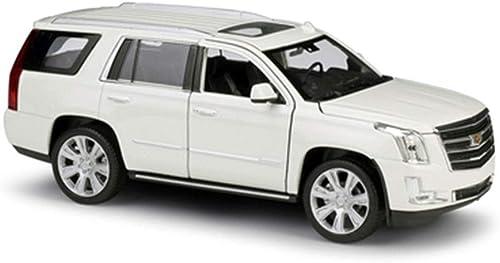 XJRHB Modèle de Voiture 1  modèle de Voiture en Alliage de Simulation 24SUV modèle de Voiture, Taille  19.2X7.5X7CM (Couleur   blanc)