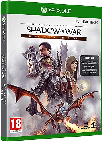 Middle Earth: Shadow of War Definitive Edition (Xbox One)