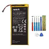 Swark HG30 Batterie compatible avec Motorola Moto G5S, G5S Plus, Moto G6 XT1806 XT1925 avec outils