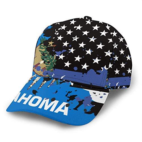 NR Oklahoma - Gorra béisbol Bandera Estados Unidos