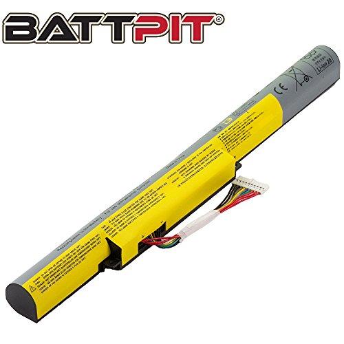 BattPit Laptop Battery for Lenovo L12L4K01 L12M4E21 L12M4K01 L12S4E21 L12S4K01 IdeaPad Z400A Z400T Z500 Z500A P500 - High Performance [4-Cell/2200mAh/32Wh]