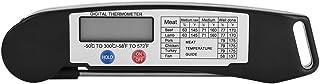 Thermomètres à Viande à Lecture Instantanée LCD Thermomètre de Cuisson pour Barbecue Testeur de Température avec Sonde Pli...