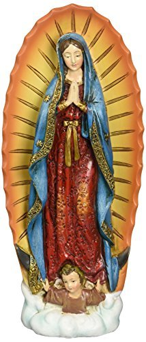 Renaissance Collection Joseph 's Studio by Roman Exclusive Our Lady of Guadalupe Figur, 7.25-inch by...