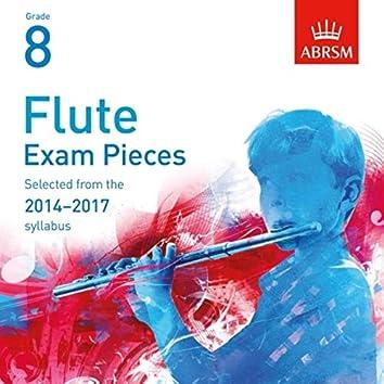 Flute Exam Pieces 2014 - 2017, ABRSM Grade 8