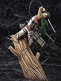 Ataque de la guoyulina en Titan Artfx J Levi Paquete de renovación Gusano Anime Toy Statue Doll Orna...
