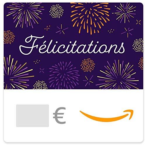 Chèque-cadeau Amazon.fr - E-mail - Feux d'artifices