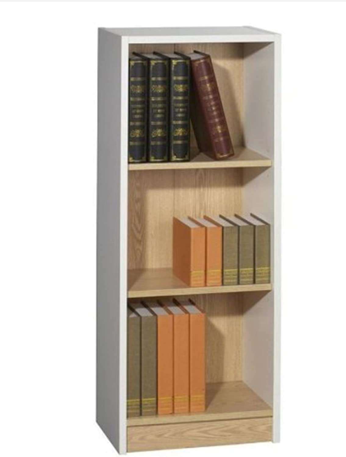 Rongda Furniture Bookcase, Factory Price Wholesale Wood Book Rack Open Shelf File Cabinet (B01)
