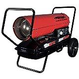 Pro-Temp PT-70T-KFA 70,000 BTU Forced Air Kerosene Heater, Red/Black