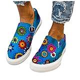 BIBOKAOKE Loafers - Zapatos de bota para mujer, informales, para verano, antideslizantes, planos, para el tiempo libre, transpirables, para caminar, caminar