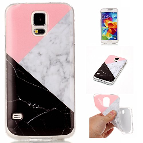Coque Samsung Galaxy S6 Edge Étui Silicone,Leweiany Samsung Galaxy S6 Edge Coque de Protection avec Absorption de Choc et Anti-Scratch Ultra Mince Cas