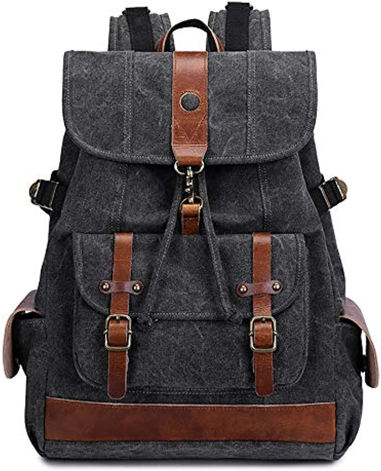 a4e8922b039f Canvas Backpack Backpack Men's Computer Bag Unisex Canvas Backpack ...