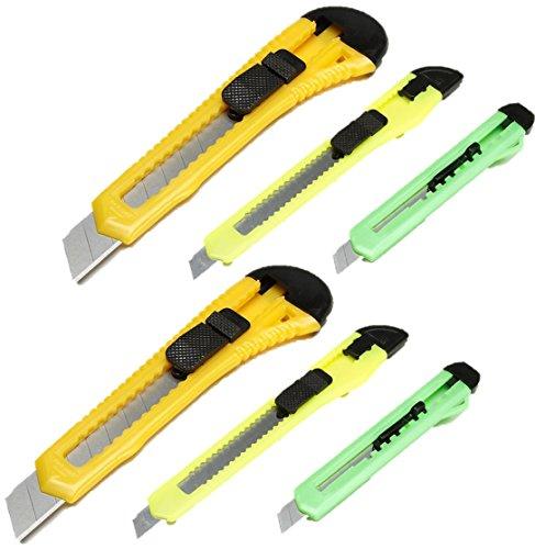 DARICE LEVADO 1095-34 608766668047 Retractable Razor Knife Set