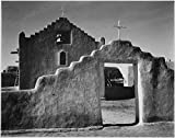 Das Museum Outlet–Adams–Kirche in Taos Pueblo