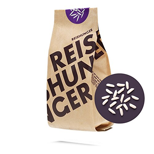 Reishunger Kleb Reis, Thailand, 3er Pack (3 x 600g) Weißer Süß Reis – erhältlich in 200 g bis 9 kg