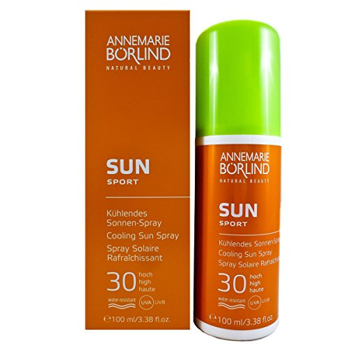 Annemarie Börlind Sun Sport unisex, Cooling Spray, 1er Pack (1 x 100 ml)