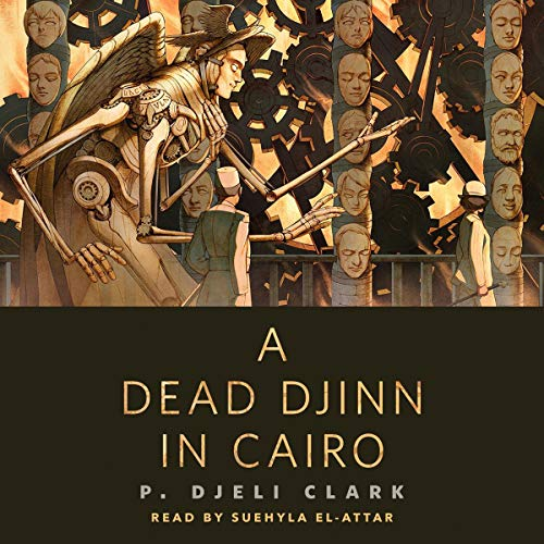 A Dead Djinn in Cairo audiobook cover art