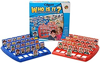 Plastic Folding Board Game Toy Who Is It Guessing Game Kids Educational Toy