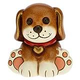 THUN - Puppy Dog - Living, Oggetti Decorativi per la Casa - Idea Regalo - Linea Thunimals - Ceramica - 5x4,2x5,5 h cm